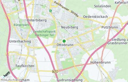 Stadtplan Ottobrunn