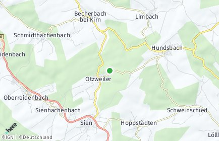 Stadtplan Otzweiler