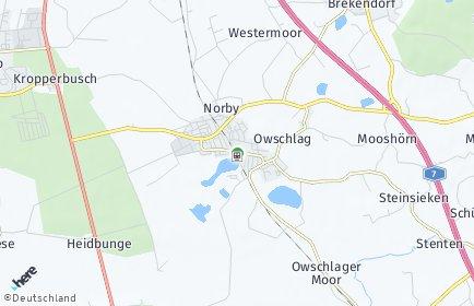 Stadtplan Owschlag