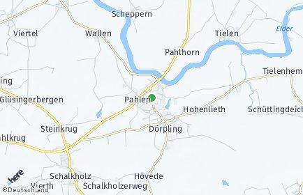 Stadtplan Pahlen