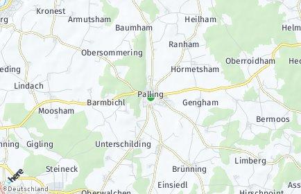 Stadtplan Palling