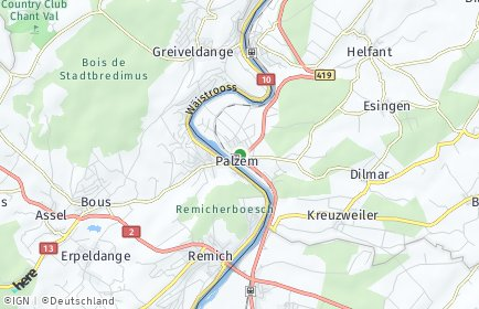 Stadtplan Palzem