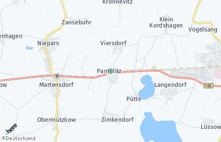 Stadtplan Pantelitz