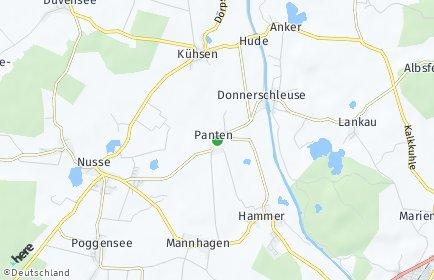 Stadtplan Panten