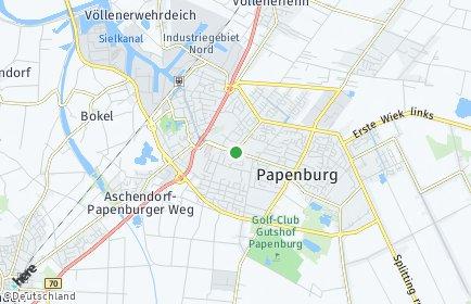 Stadtplan Papenburg