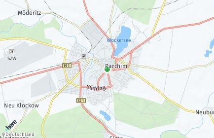 Stadtplan Parchim