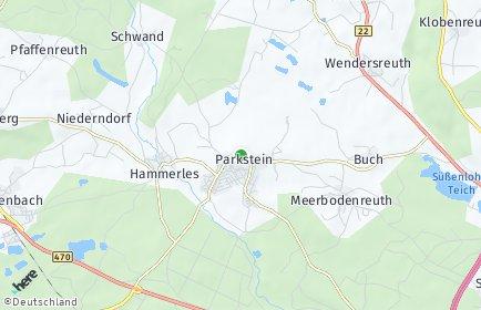 Stadtplan Parkstein