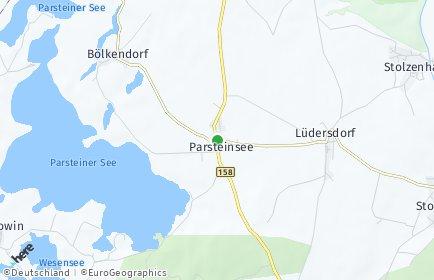 Stadtplan Parsteinsee