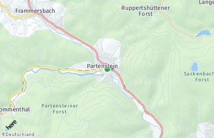 Stadtplan Partenstein