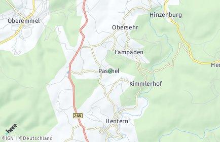 Stadtplan Paschel