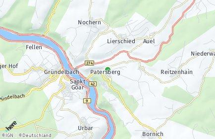 Stadtplan Patersberg