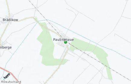 Stadtplan Paulinenaue