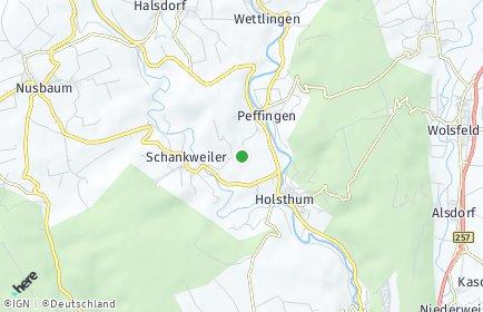 Stadtplan Peffingen