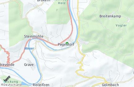 Stadtplan Pegestorf