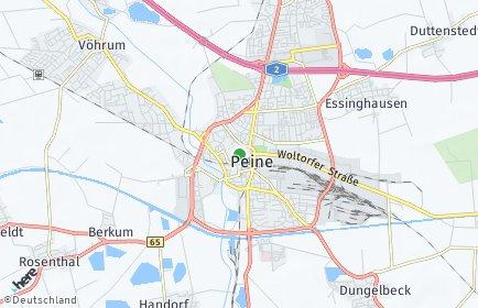 Stadtplan Peine