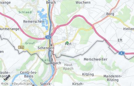 Stadtplan Perl