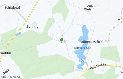 Stadtplan Perlin
