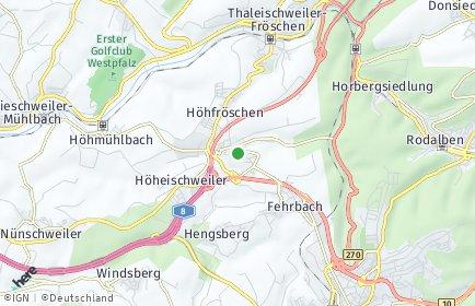 Stadtplan Petersberg (Pfalz)
