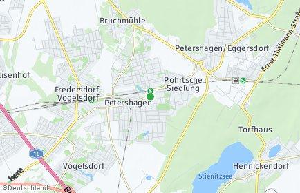 Stadtplan Petershagen/Eggersdorf