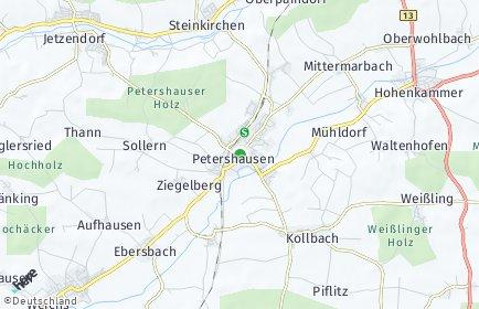 Stadtplan Petershausen