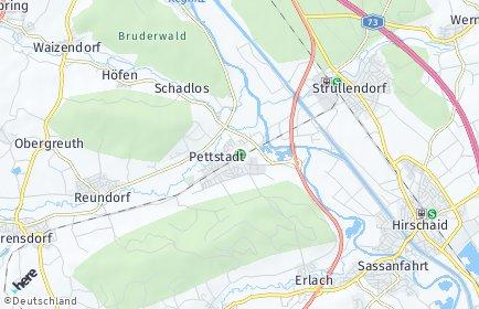 Stadtplan Pettstadt