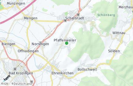 Stadtplan Pfaffenweiler