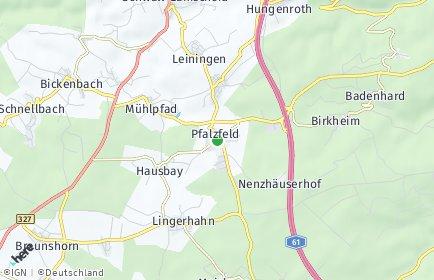 Stadtplan Pfalzfeld