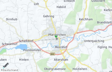 Stadtplan Pfarrkirchen