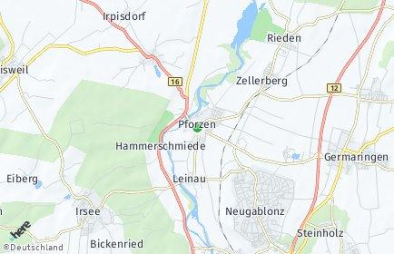 Stadtplan Pforzen