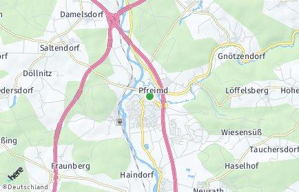Stadtplan Pfreimd