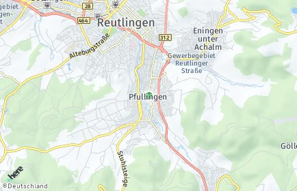 Stadtplan Pfullingen