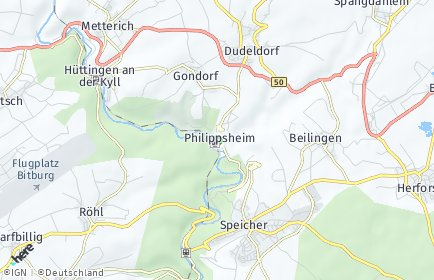Stadtplan Philippsheim