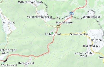Stadtplan Philippsreut