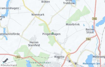 Stadtplan Pingelshagen