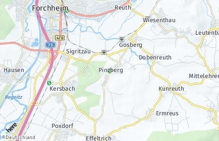 Stadtplan Pinzberg