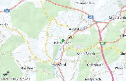 Stadtplan Pittenbach