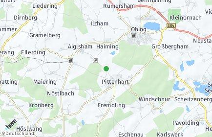 Stadtplan Pittenhart