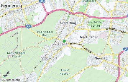 Stadtplan Planegg