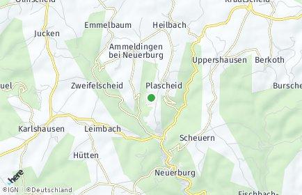 Stadtplan Plascheid
