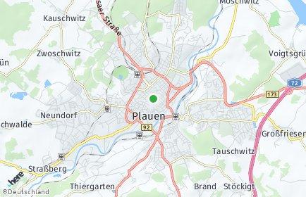 Stadtplan Plauen