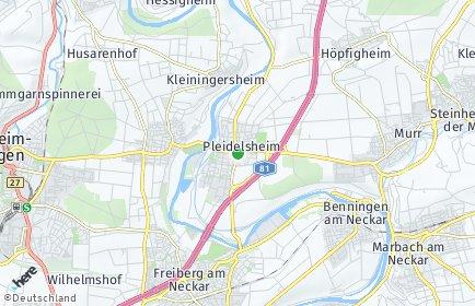 Stadtplan Pleidelsheim