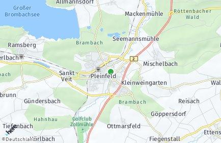 Stadtplan Pleinfeld