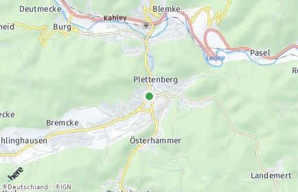 Stadtplan Plettenberg