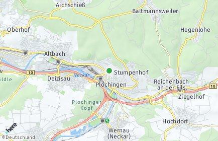Stadtplan Plochingen