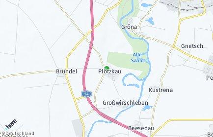 Stadtplan Plötzkau
