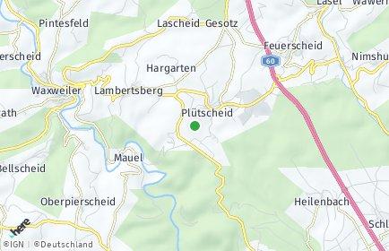 Stadtplan Plütscheid