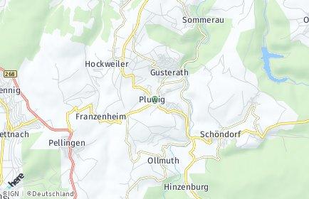 Stadtplan Pluwig