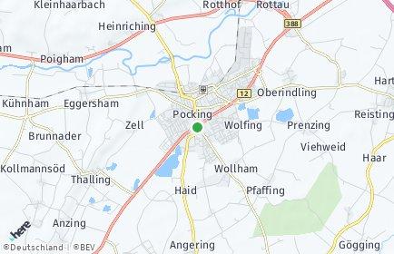 Stadtplan Pocking