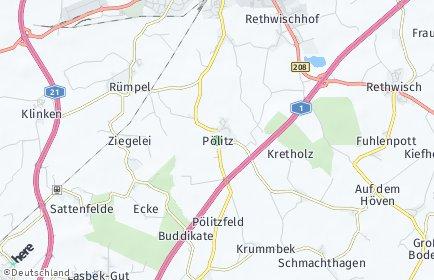 Stadtplan Pölitz