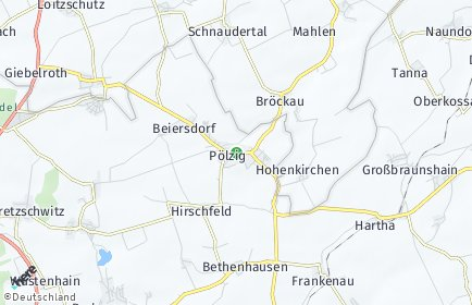Stadtplan Pölzig